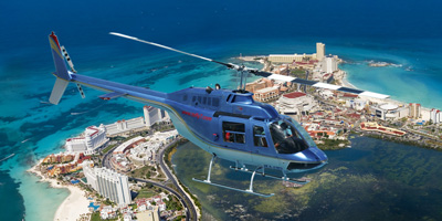 Helicopter Tour Cancun, Activities in Cancun