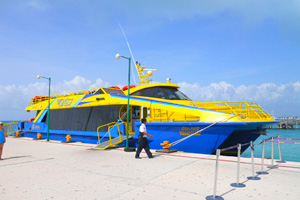 Boat Ferry, Transportation in Mexican Caribbean