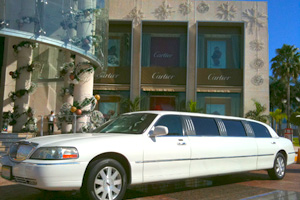 Limousine, Transportation in Mexican Caribbean