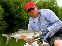 Fly Fishing en Cancun, Pesca con Mosca en Cancun