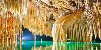 Rio Secreto, Points of interest in Riviera Maya