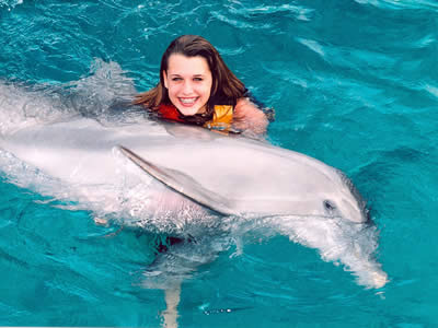 Swim with Dolphins in Isla Mujeres, Mexican Caribbean