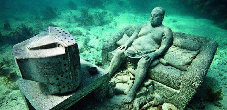 Musa Cancun Underwater Museums