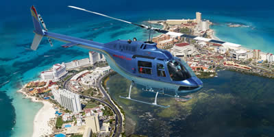 Cancun Helicopter Tour