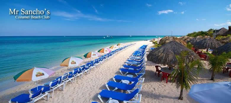 Mr Sanchos Beach Club Cozumel The Best Beaches In World