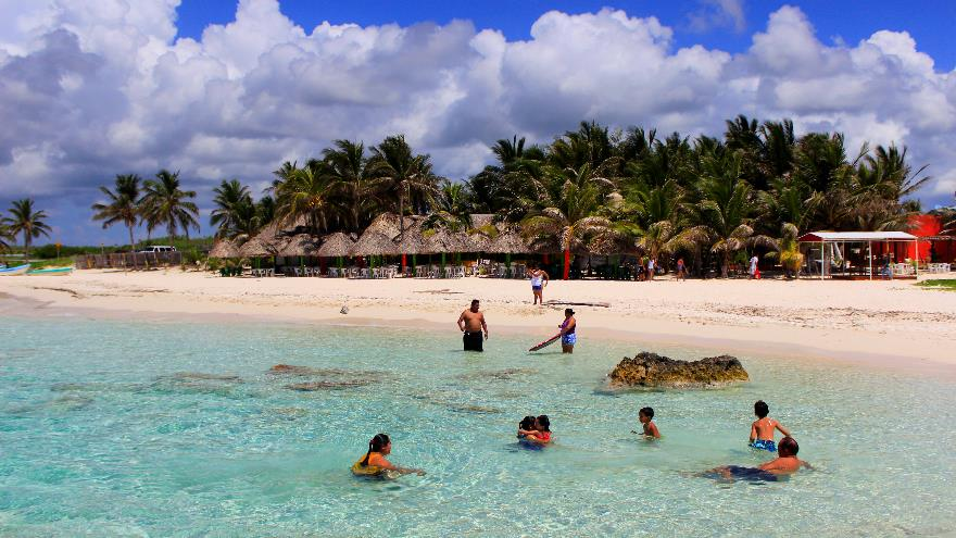Fotos de playa desnuda cozumel