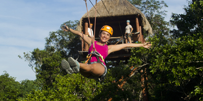 Mayan Zip Line, All Tour Native