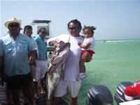 Fishing Holbox Island, Mexican Caribbean