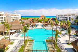 Hoteles en playa del carmen hoteles en el caribe mexicano for Villas las perlas playa del carmen