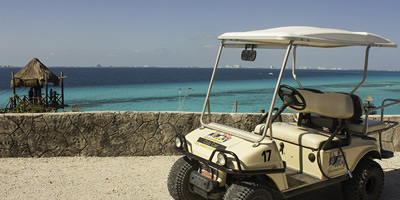 Golf Car Rental Isla Mujeres