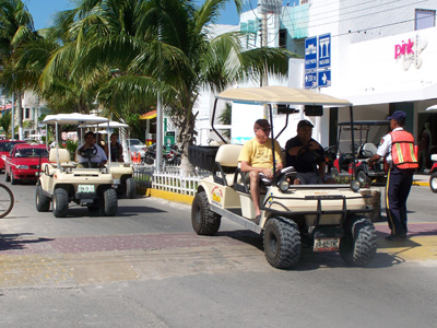 Golf Car, Mexican Caribbean