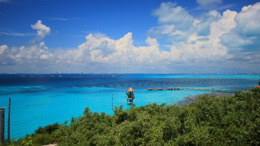 Garrafon Natural Reef Park In Isla Mujeres Mexican Caribbean