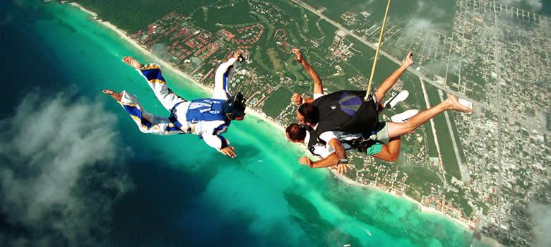 Skydiving Playa Del Carmen Mexican Caribbean