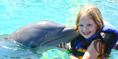 Swim with Dolphins, Points of interest in Riviera Maya