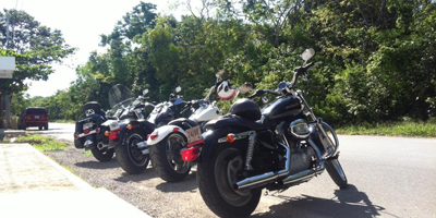 Harley Davidson, Activities in Playa del Carmen