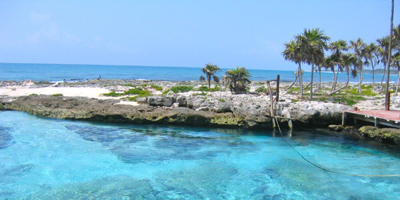 Tankah Inlet, Points of interest in Riviera Maya