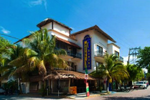Hotel Banana, Small Hotels Playa del Carmen