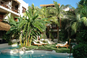 La Tortuga Hotel and Spa, Small Hotels Playa del Carmen