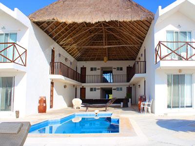 Casa de los angeles small hotel puerto morelos - Casa los angeles ...