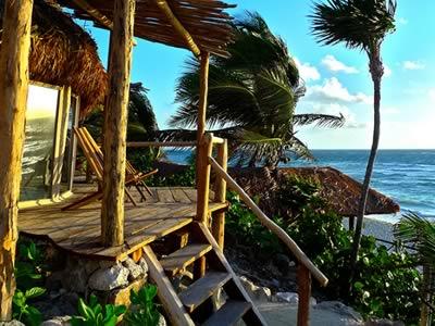Hotel papaya playa small hotel tulum for Design hotel tulum