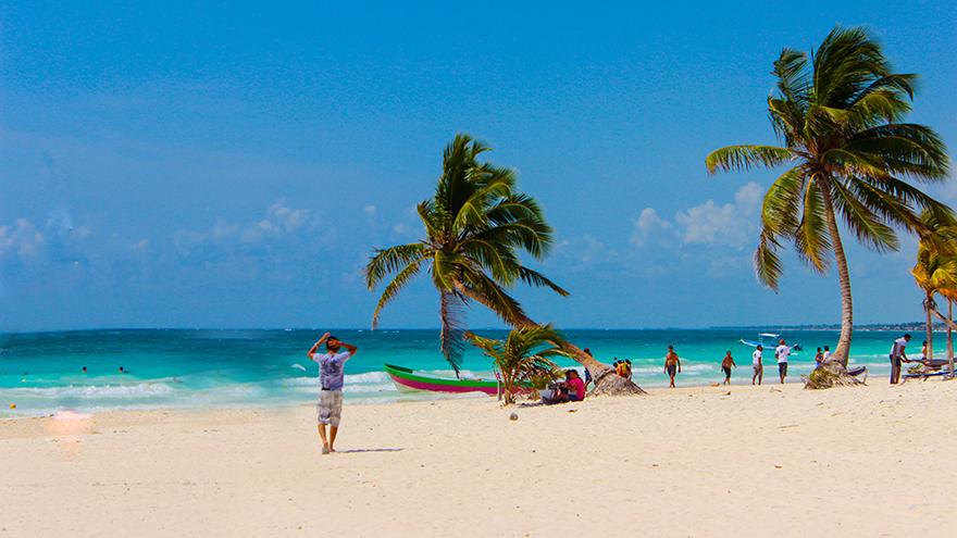 Paradise Beach Club Tulum Mexican Caribbean