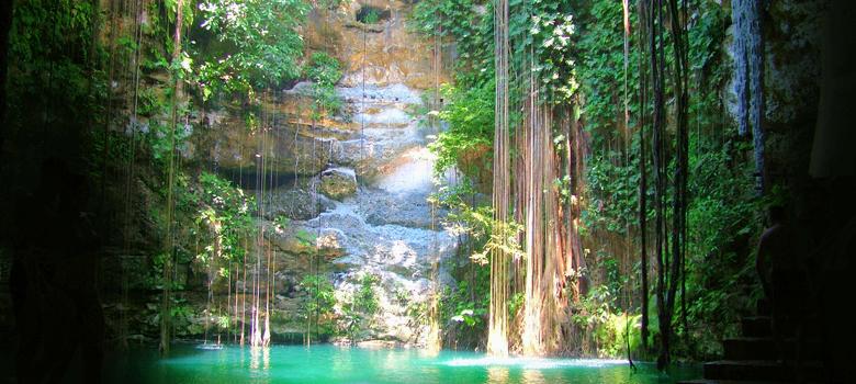 Cenote Ik Kil Mexican Caribbean